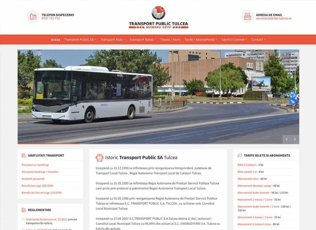 Transport Public Tulcea